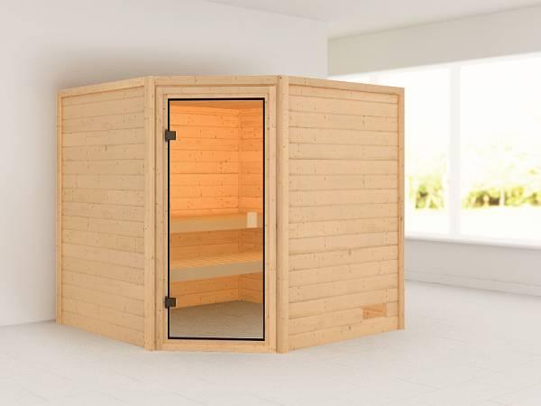 Karibu Woodfeeling Sauna Tilda 38 mm