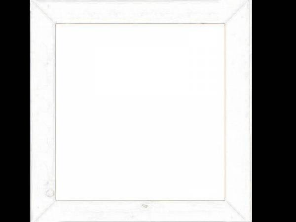 Karibu Kunstglasfenster elfenbeinweiß für 19 mm feststehend