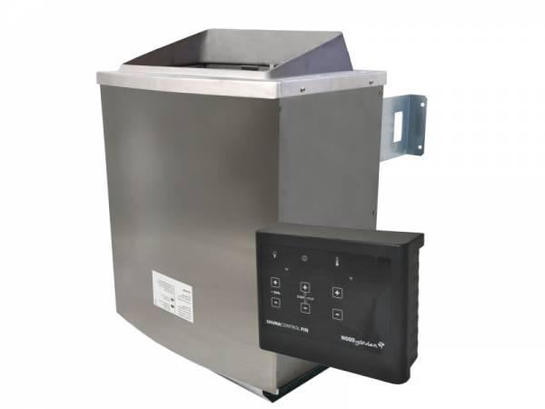 Karibu Saunaofen 9,0 kW externe Steuerung Easy schwarz