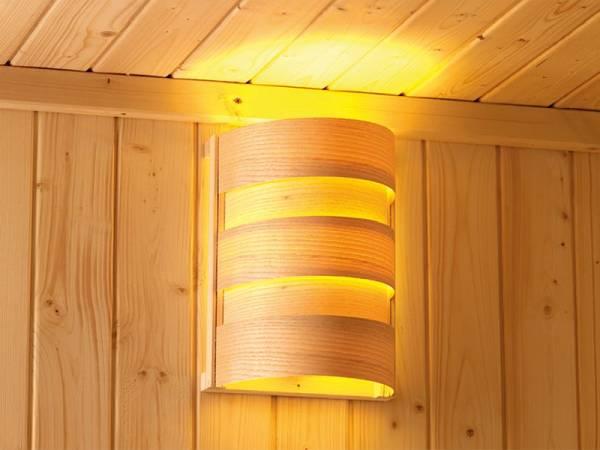 Karibu Saunaleuchte Classic Plug and Play