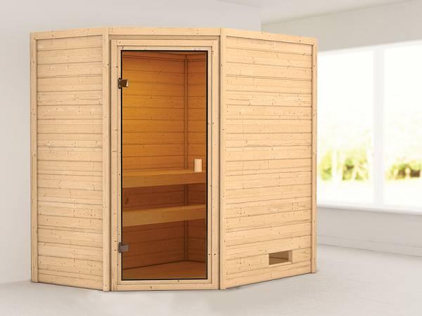Karibu Woodfeeling Sauna Jella 38 mm