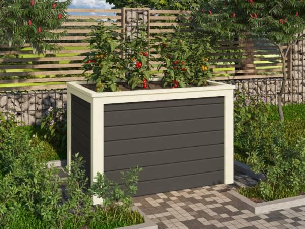 Karibu Hochbeet 0 terragrau 19 mm